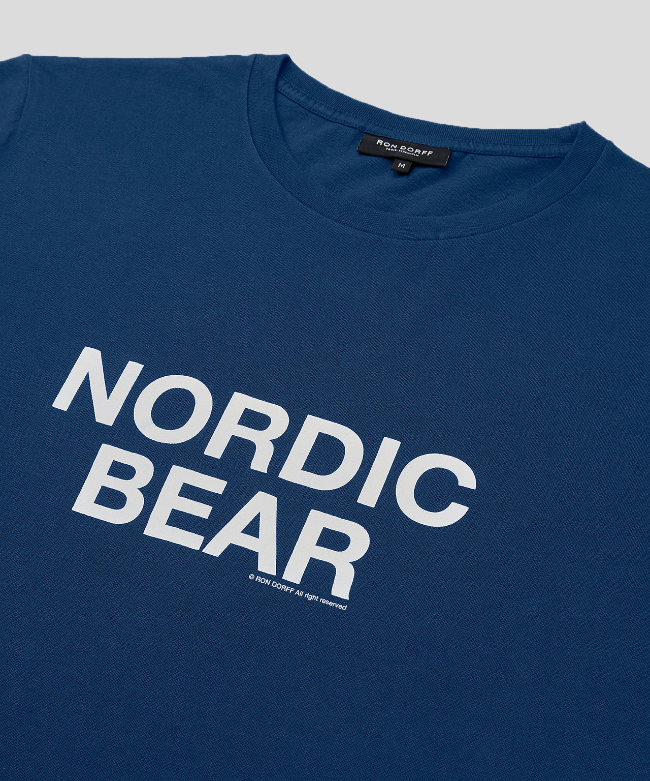 T-Shirt NORDIC BEAR - viking blue