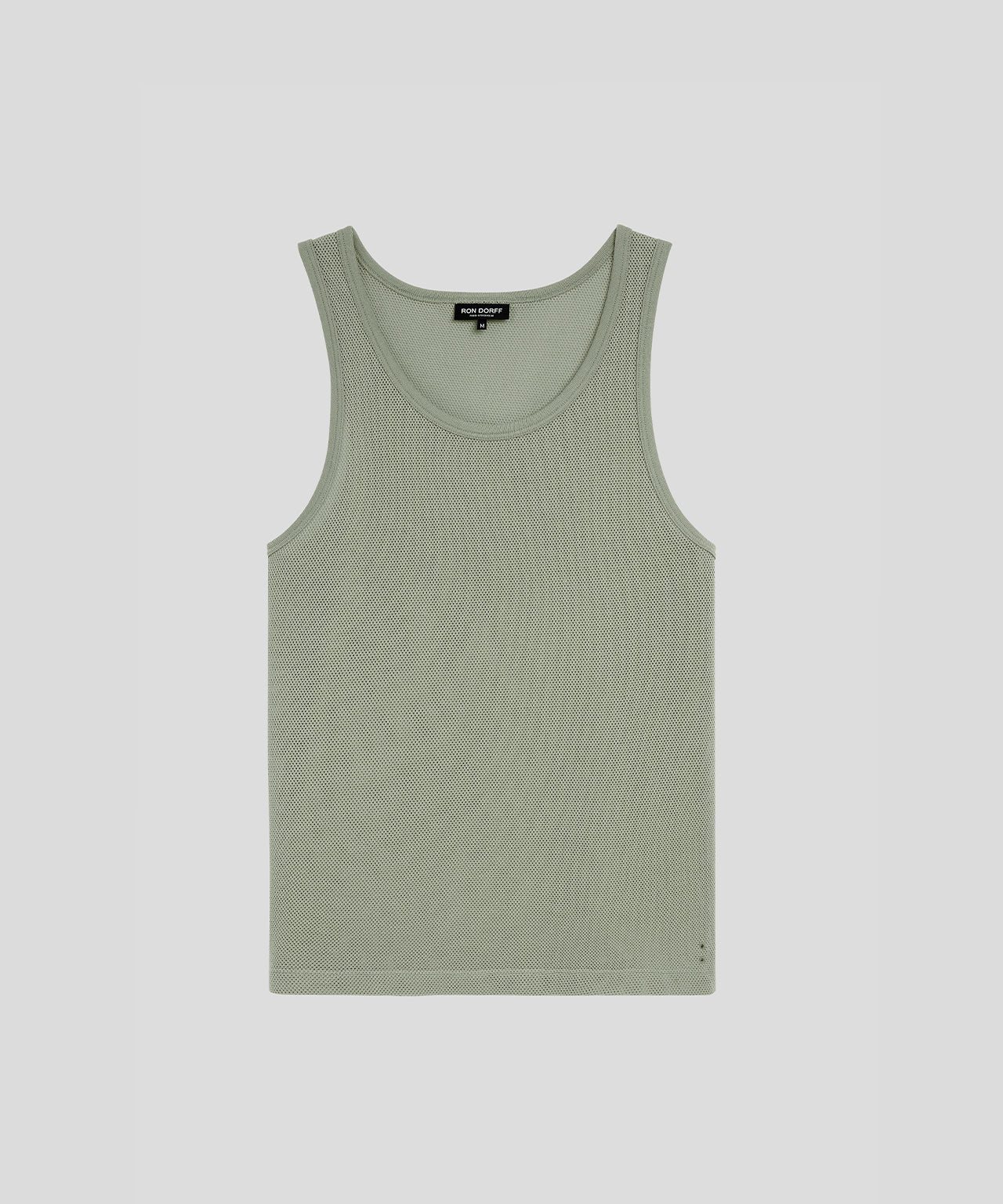 Underwear Tank Top Mesh His For Her - khaki