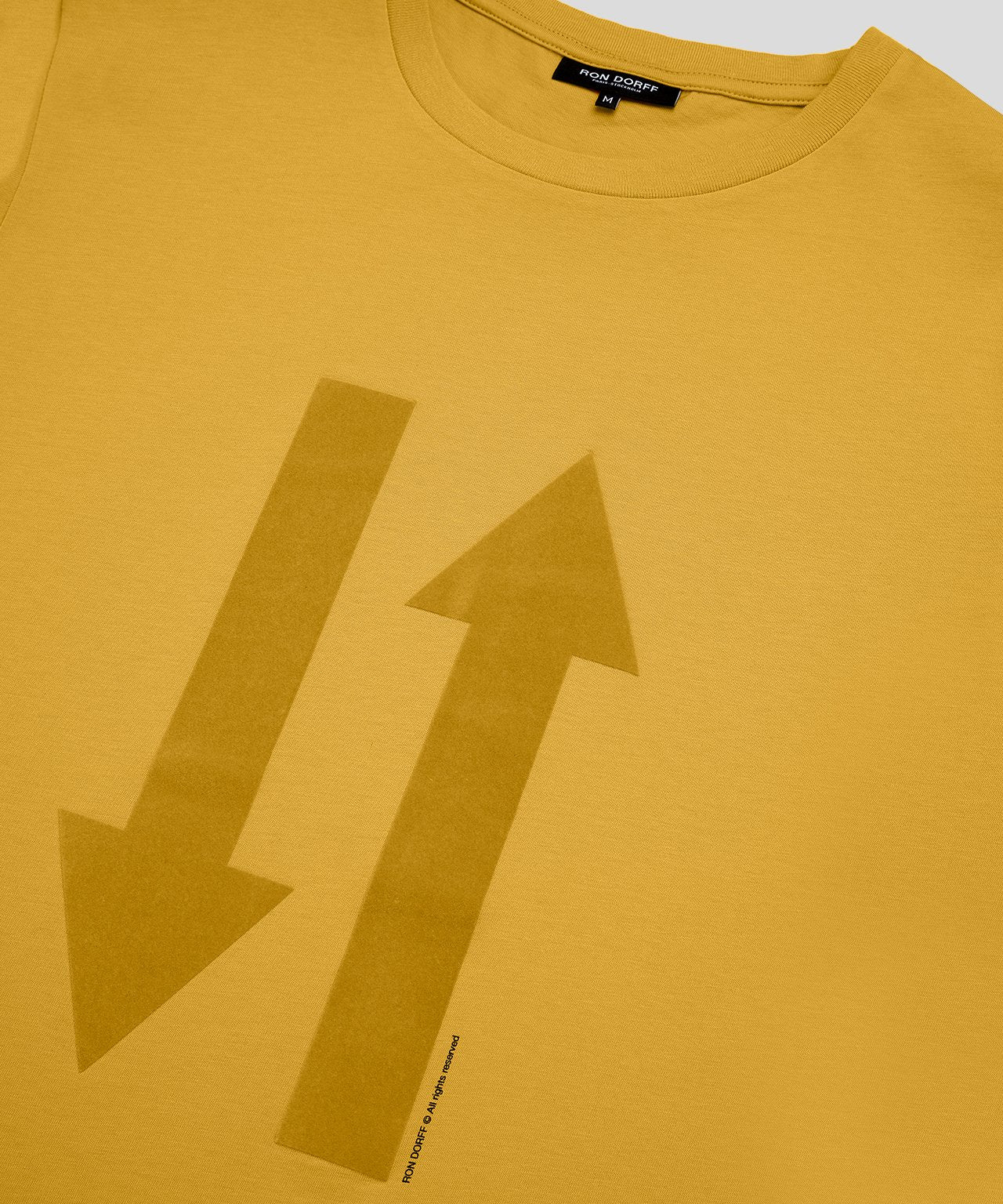 T-Shirt Both Ways His For Her - urban yellow