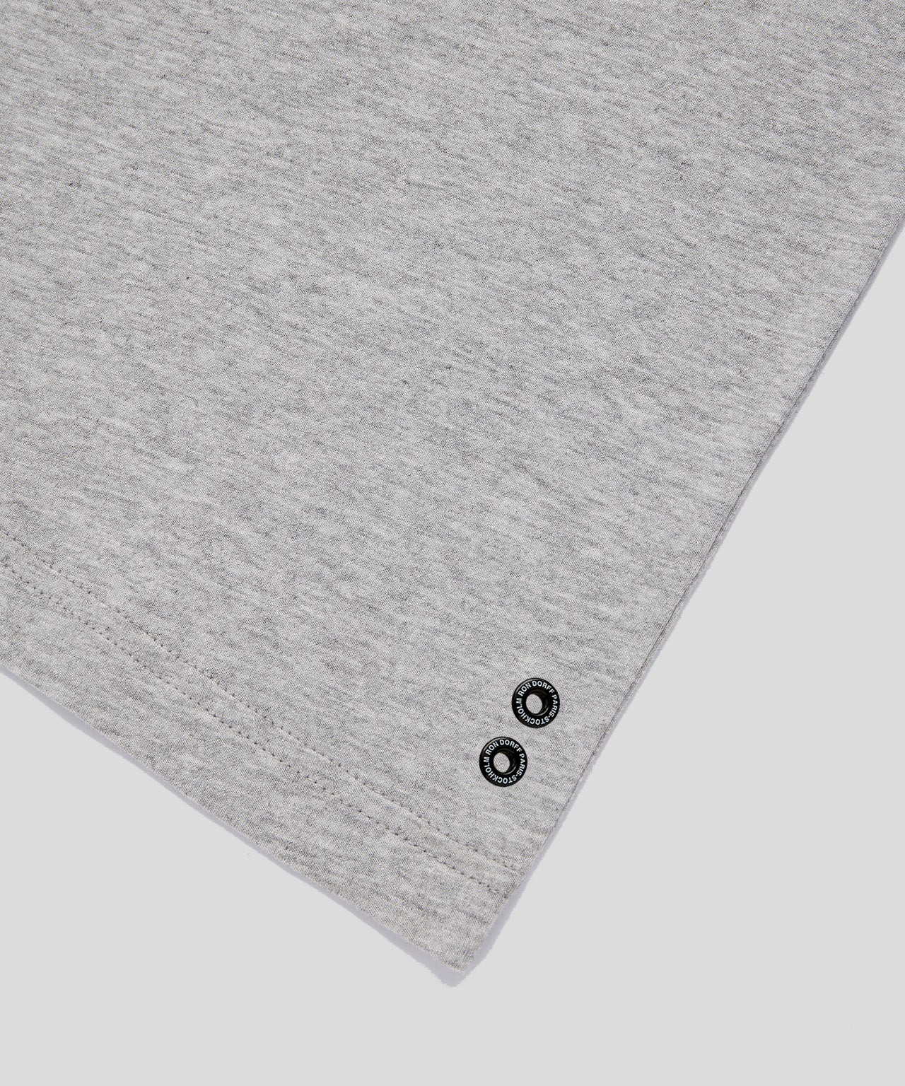 T-Shirt Eyelet Edition His For Her - grey melange