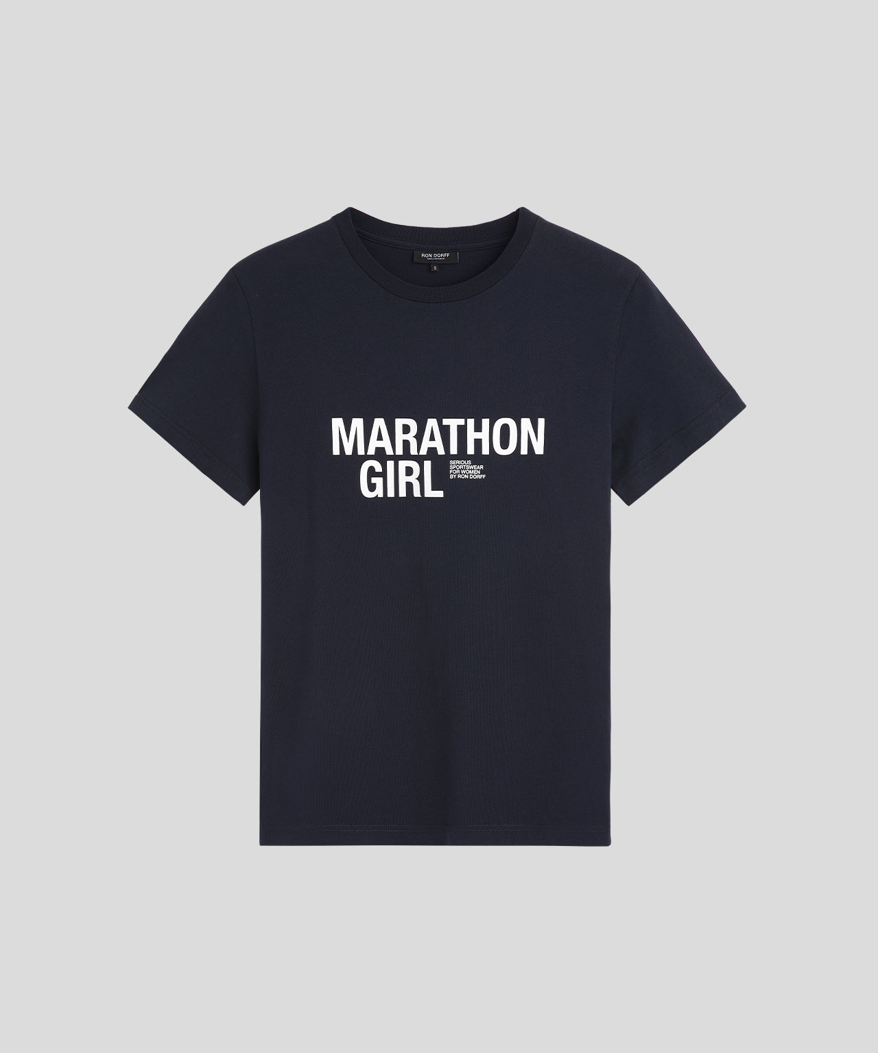 T-Shirt MARATHON GIRL - navy
