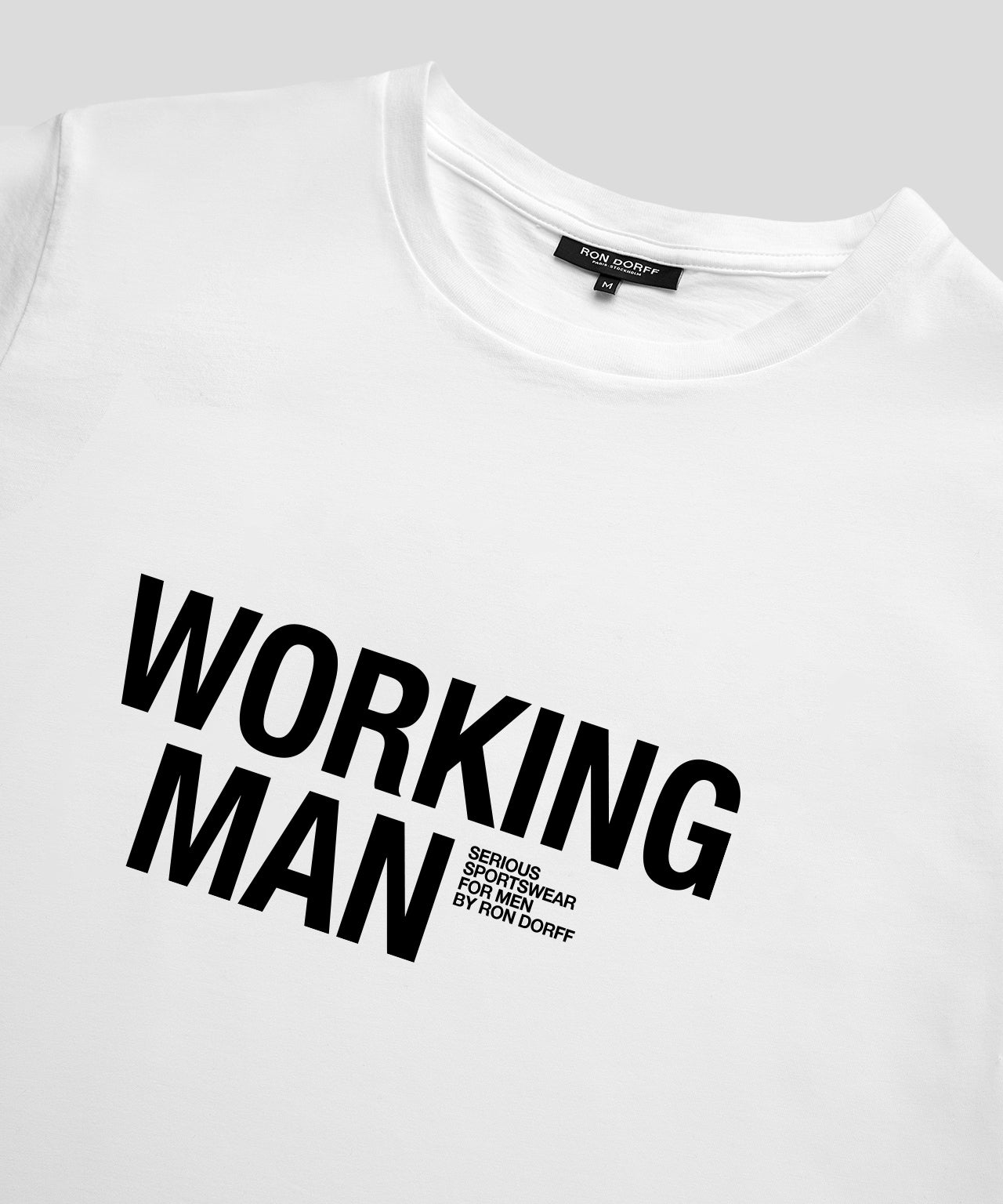 T-Shirt WORKING MAN - white