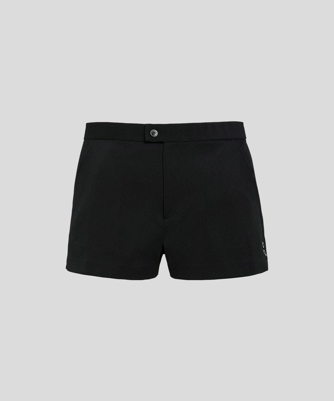 Tennis Shorts His For Her - black