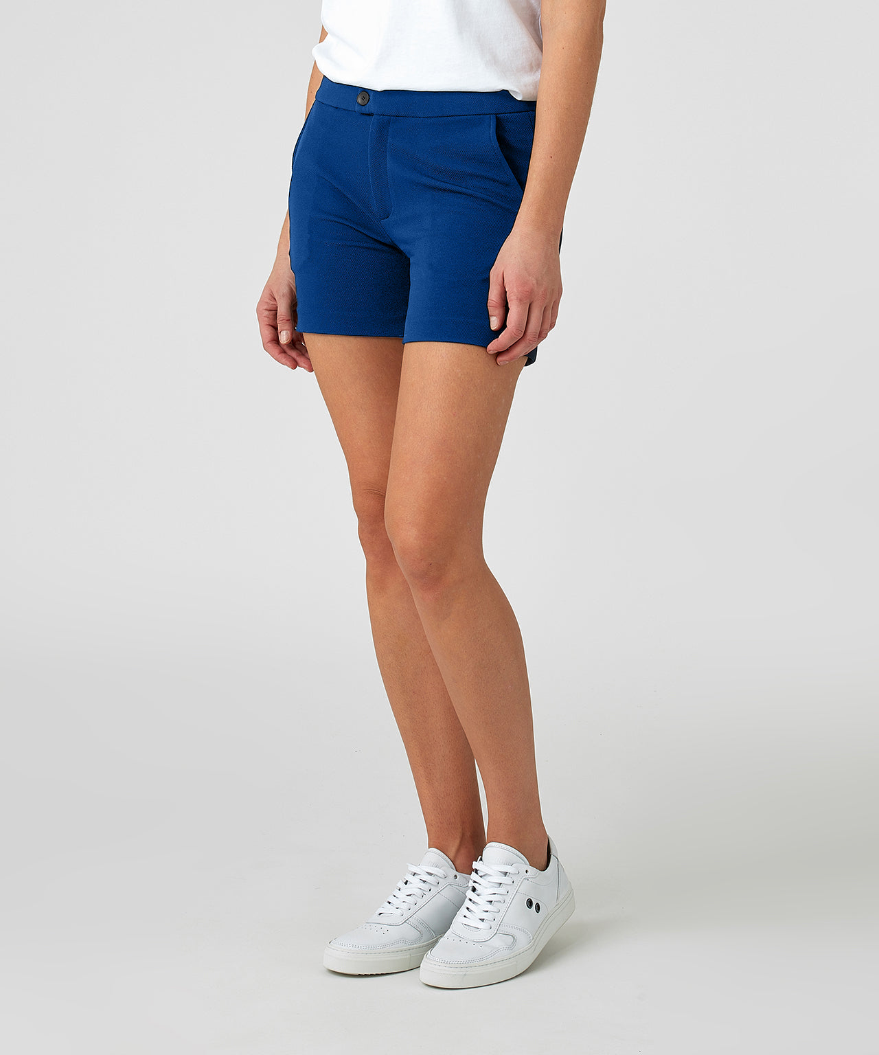 Tennis Shorts His for Her - electric blue