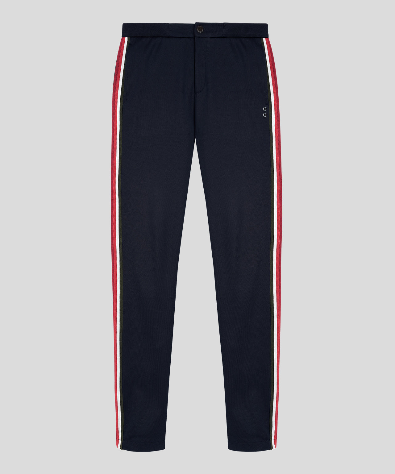 Striped Tennis Trousers His For Her - navy