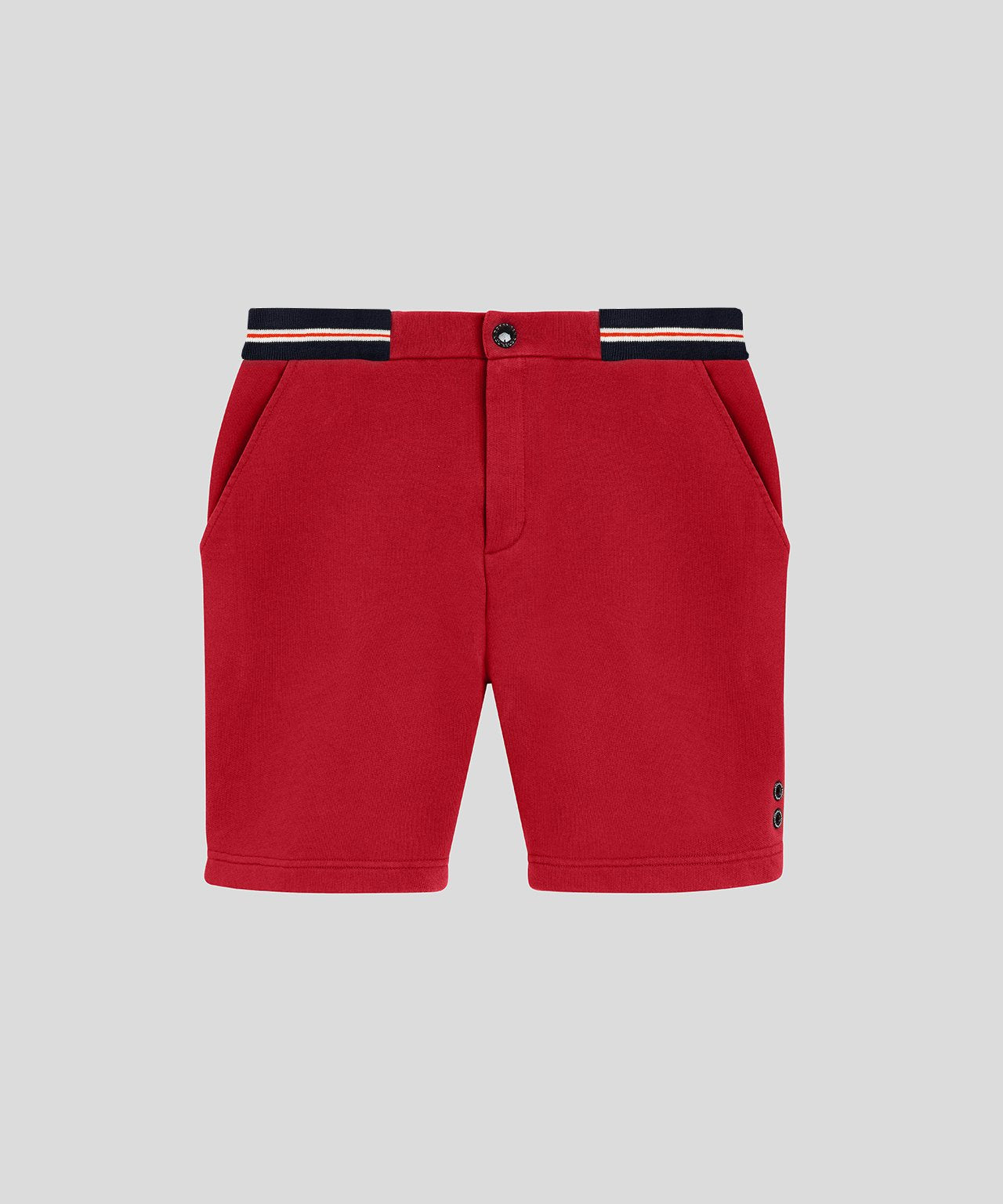 Urban Shorts Waist Stripes - traffic red