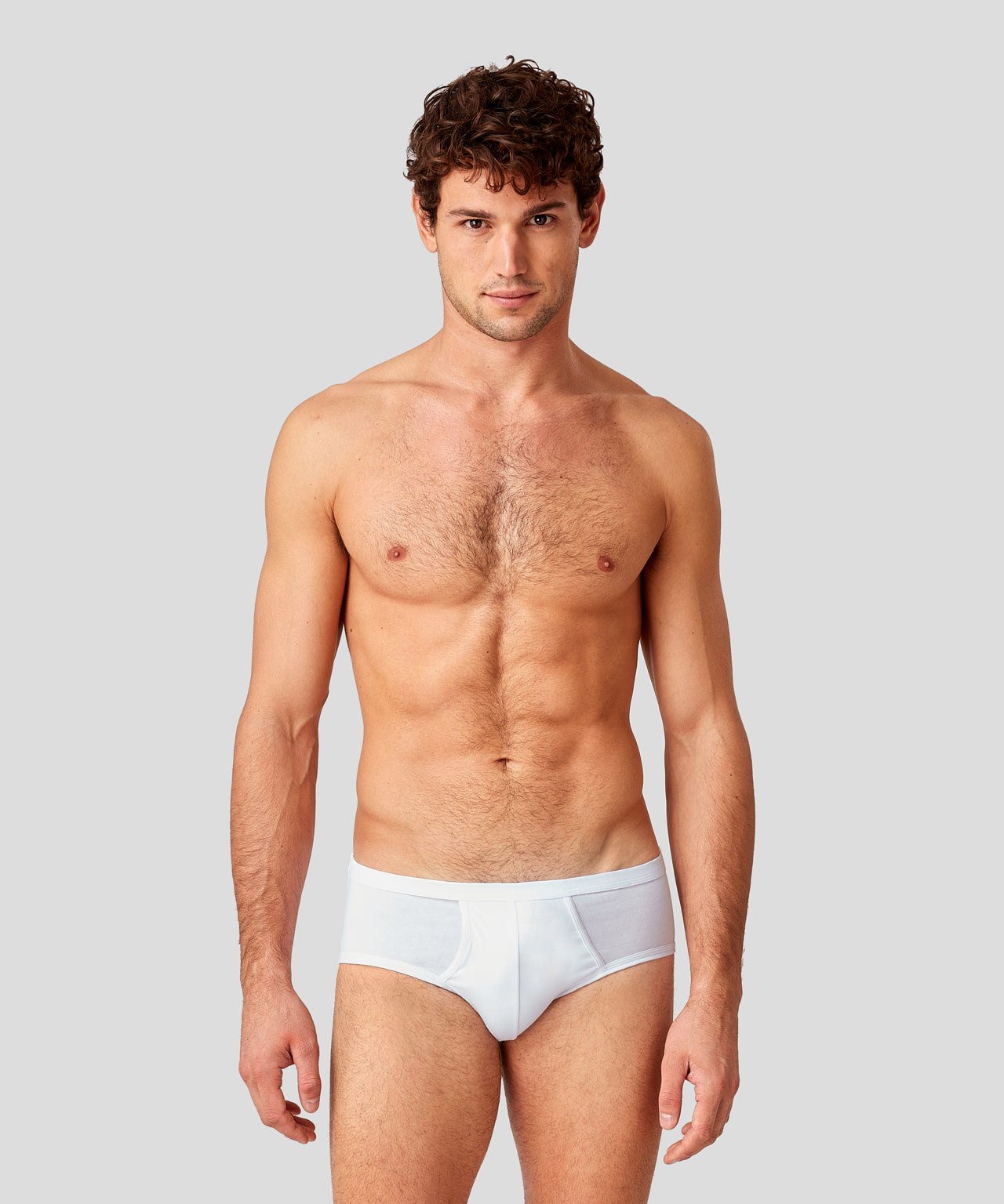 Y-Front Briefs Classic Weekend Kit - white