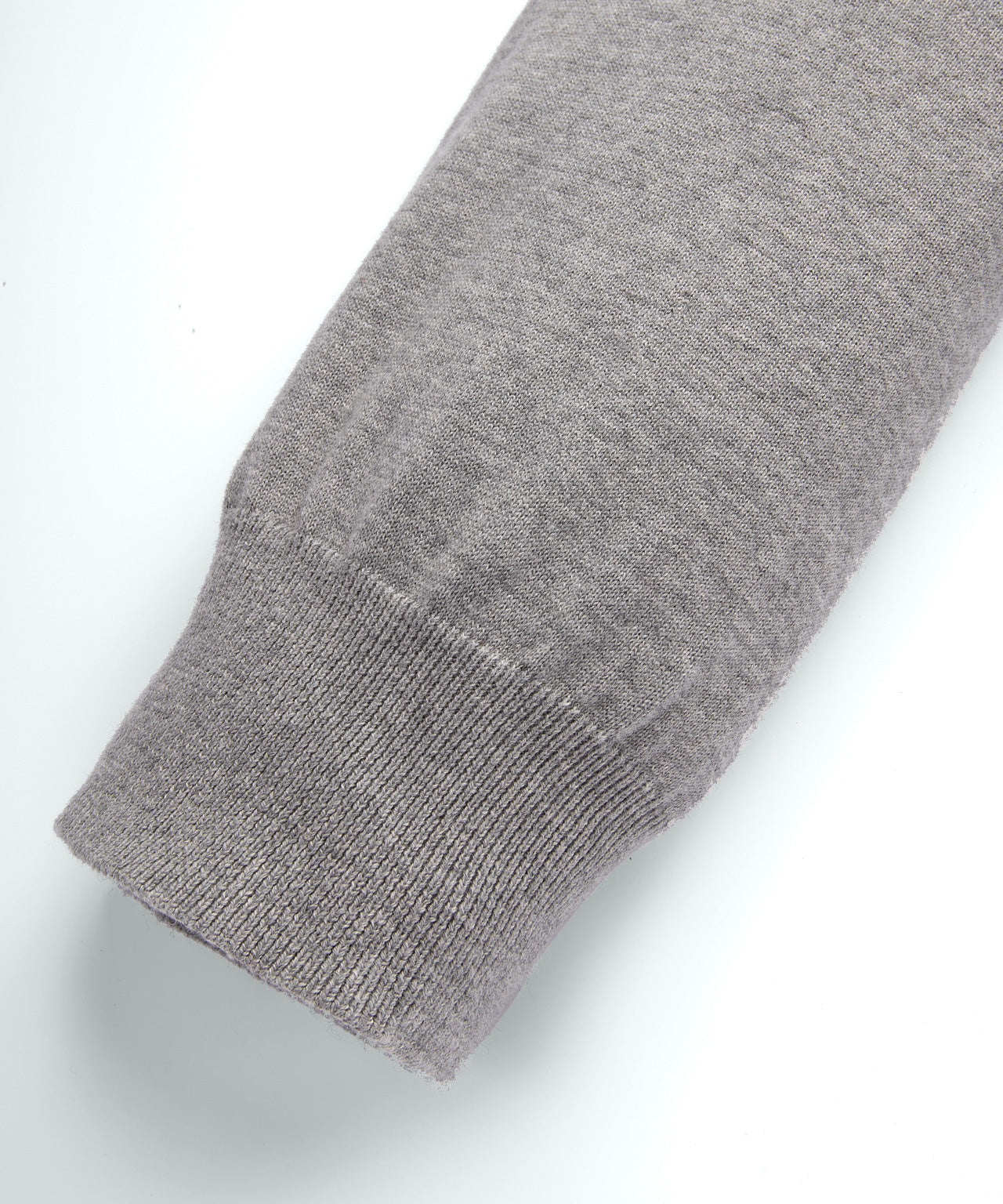 Cotton Cashmere Pants - grey melange