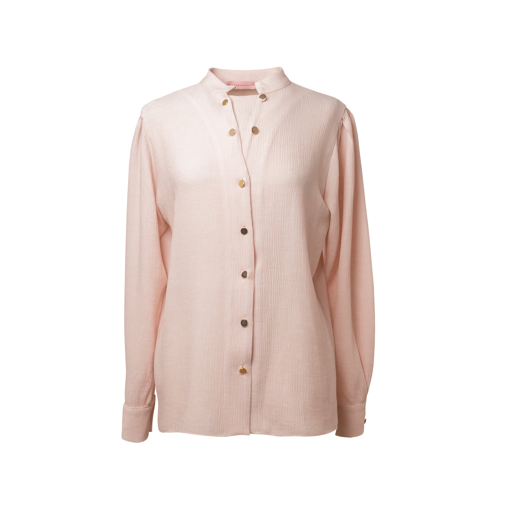 TELKI Powder Double Button Shirt