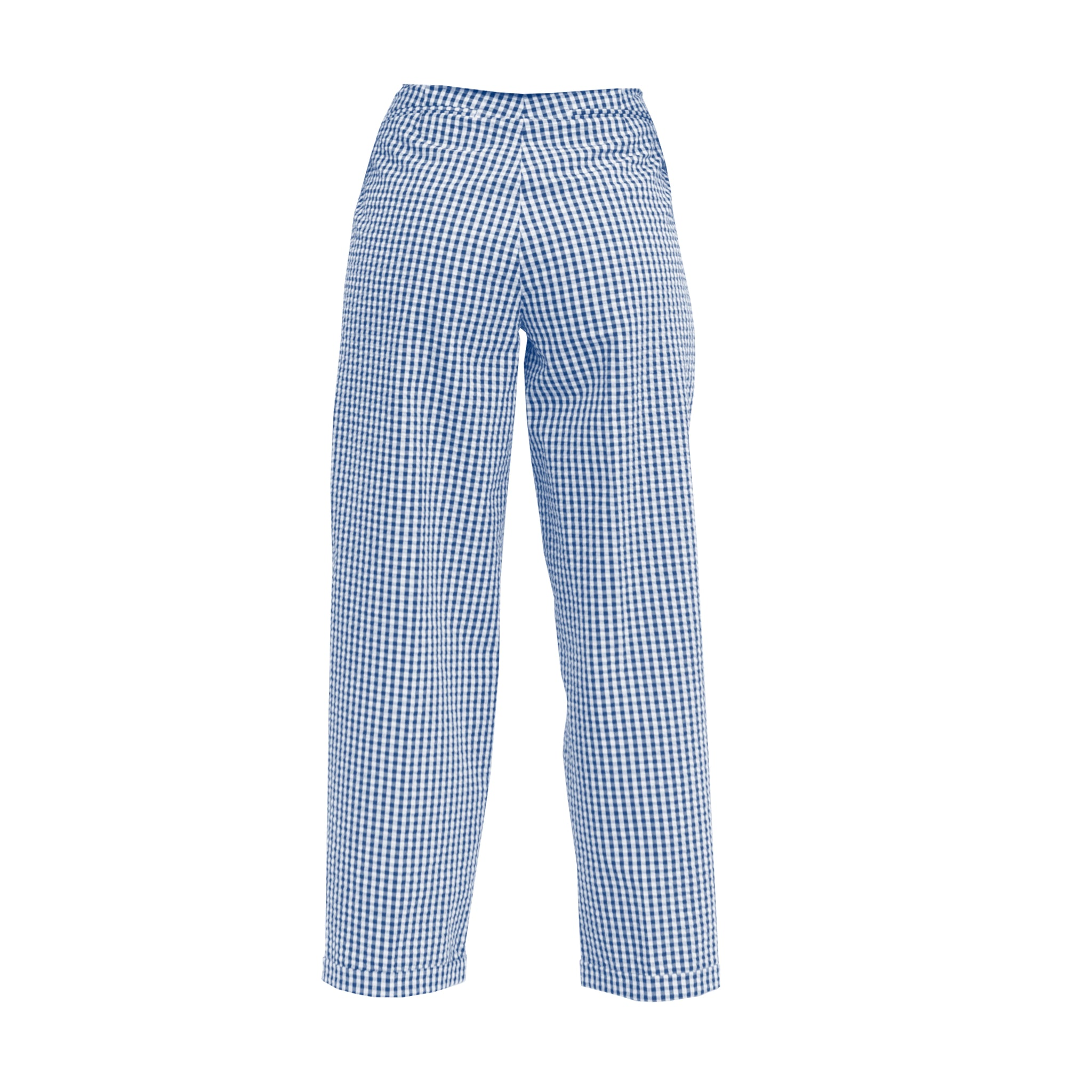 TOALMAS Blue & White Multi Pleat Trousers