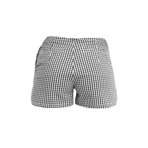 SOLYMAR Black & White Overlap Shorts