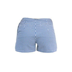 SOLYMAR Blue & White Overlap Shorts
