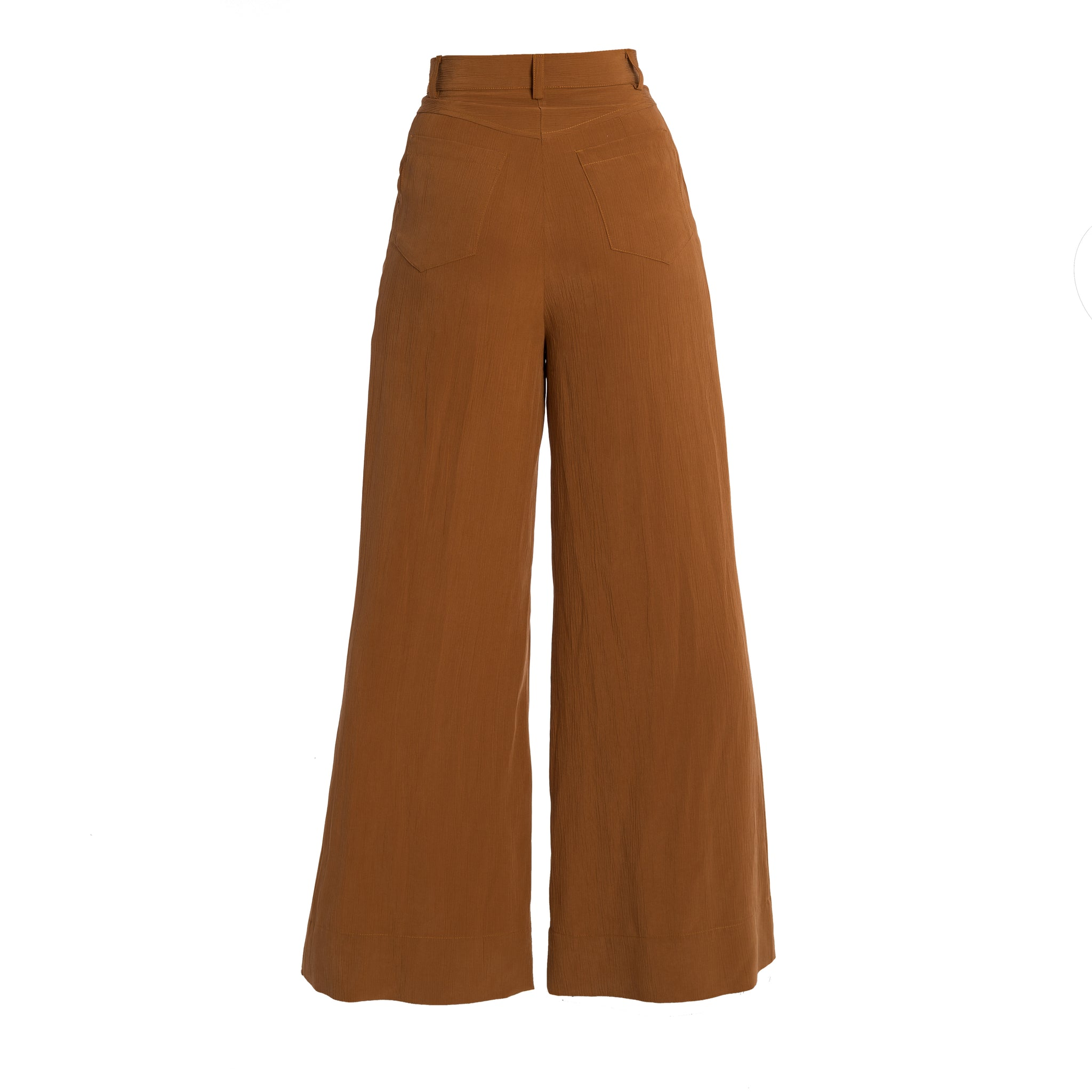 IPARTERV Rust Palazzo Trousers