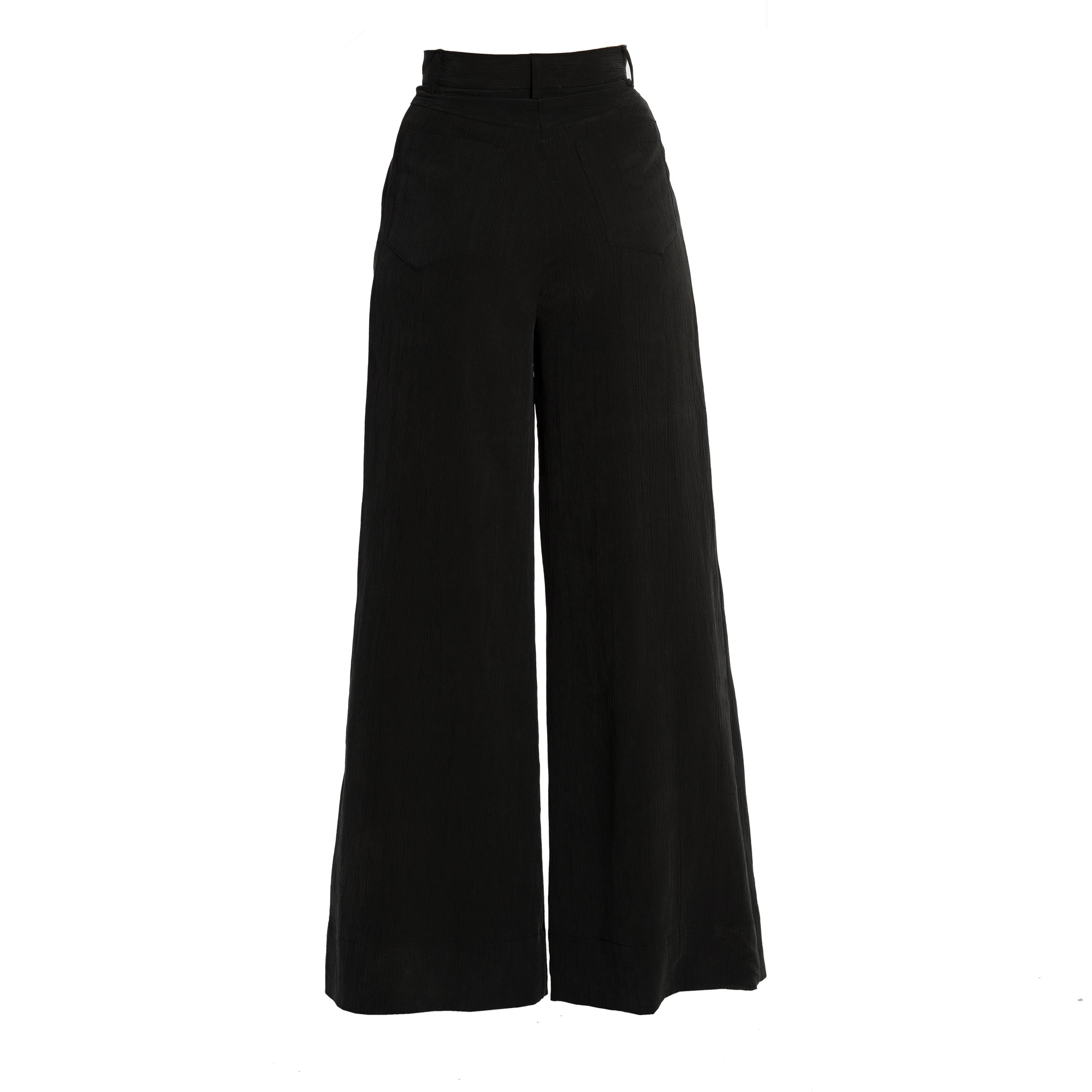 IPARTERV Charcoal Palazzo Trousers