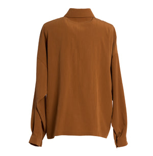 FELSZAB Rust Oversized Shirt