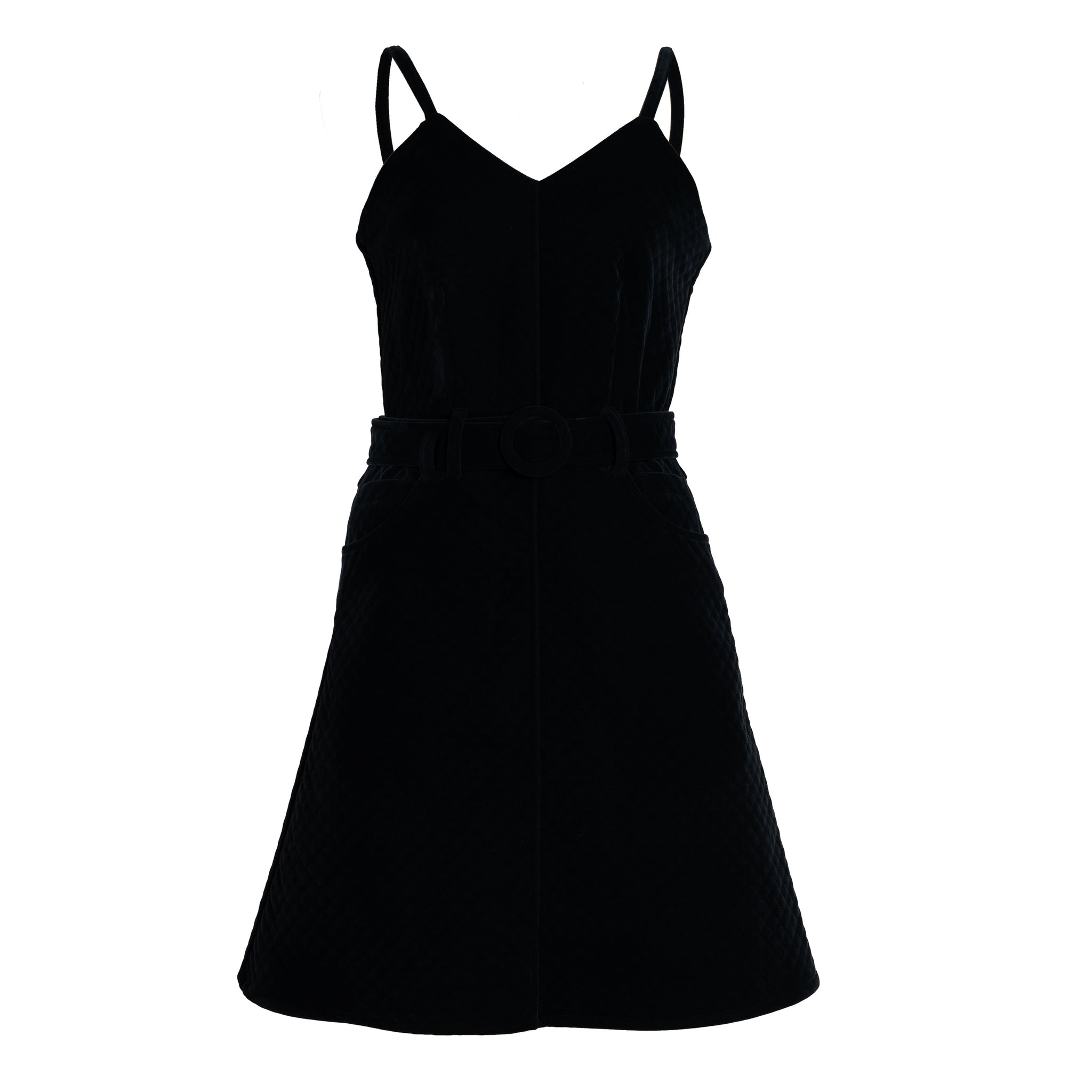 METKY Velvet Cami Dress