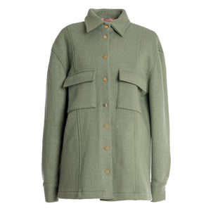 SKALA Wool Shirt Jacket