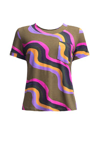 AMUR T-shirt 'waves'