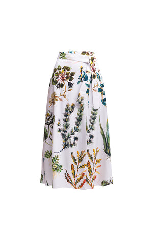COMPO wrap skirt 'hydrophyte'