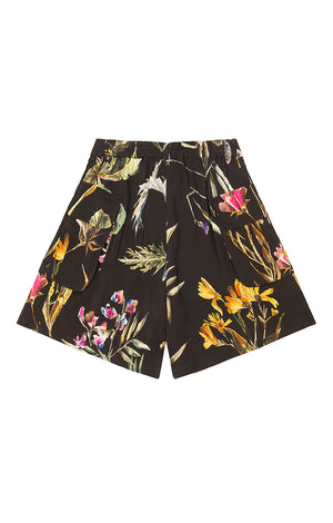 DUNA cargo shorts 'dark botanical'