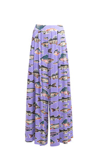 INGOLA wide leg trousers 'big fish'