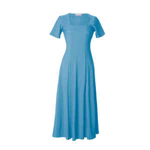 Capriati Cerulean Jersey Dress
