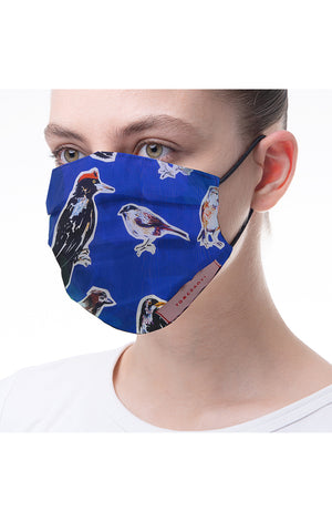 'Birdy' print mask 3 pieces
