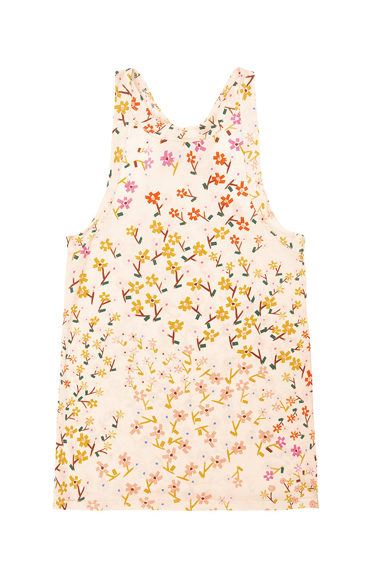 STRAND jersey cami top 'wee flower'