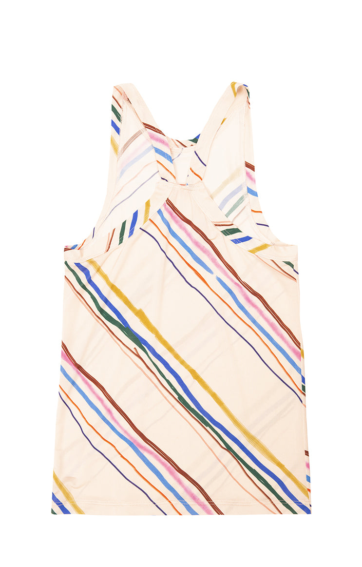 STRAND jersey cami top 'marker stripes'