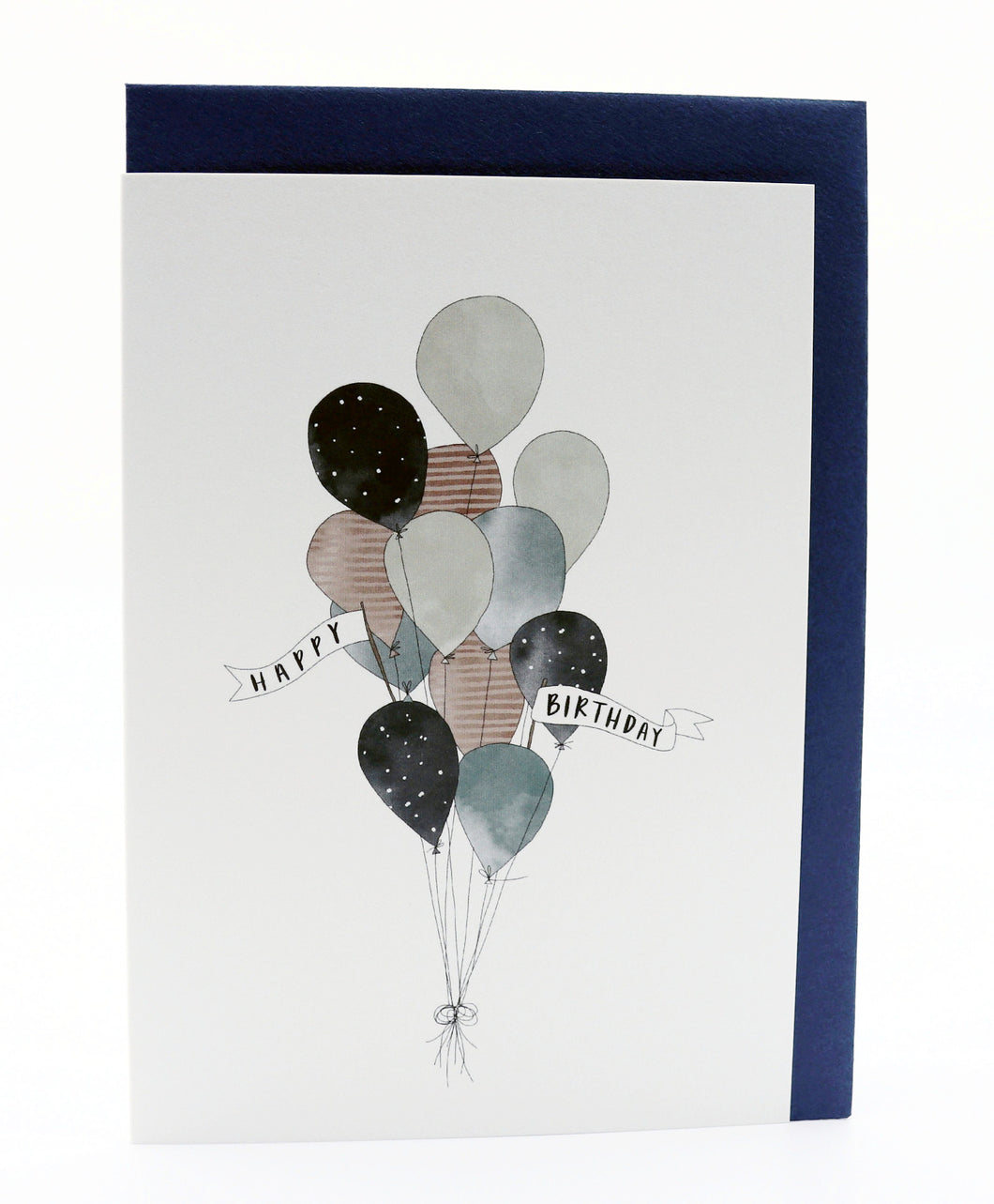 Birthday Balloons Greeting Card