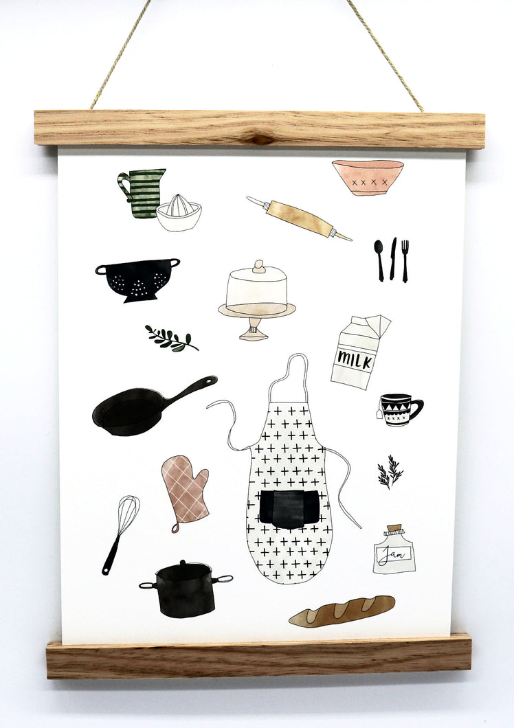 In The Kitchen Print