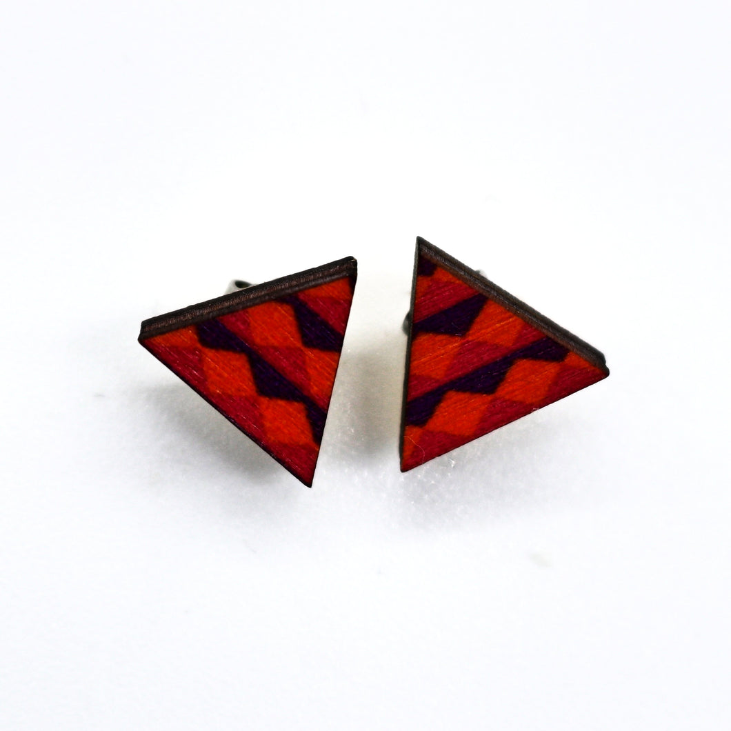 Triangle Studs- Aria