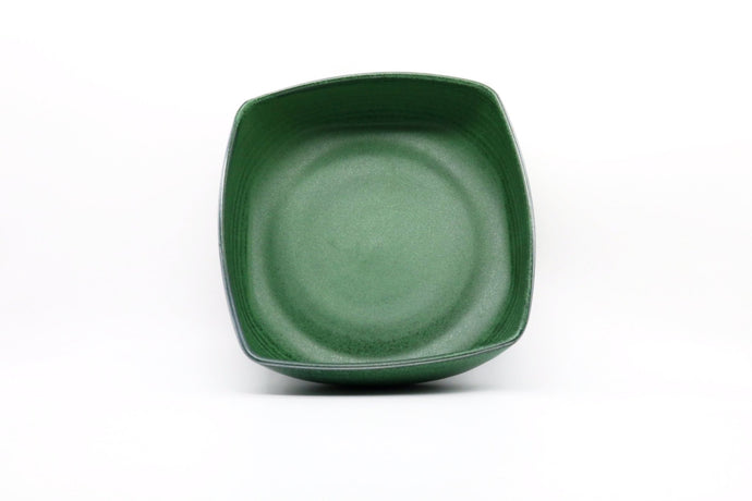 Ceramic Small Square Bowl- Green