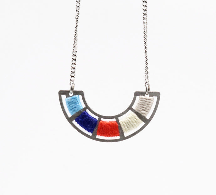 Colour Wheel Necklace- Life Aquatic