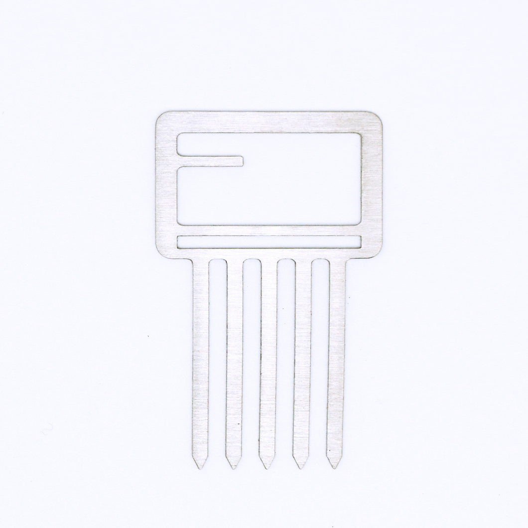 Mini Hair Comb- Square