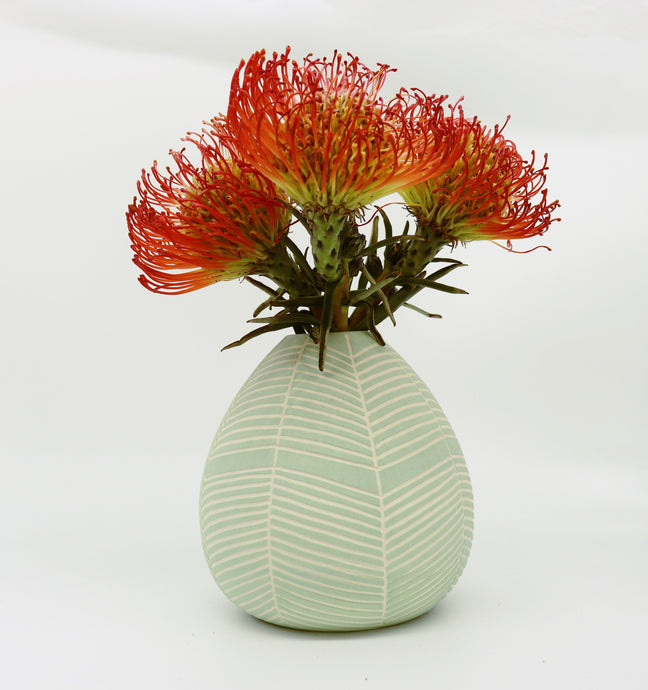 Droplet Vase- Mint