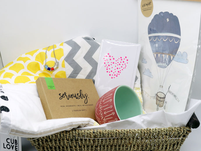 Mother's Day Gift Basket- First Mum Love