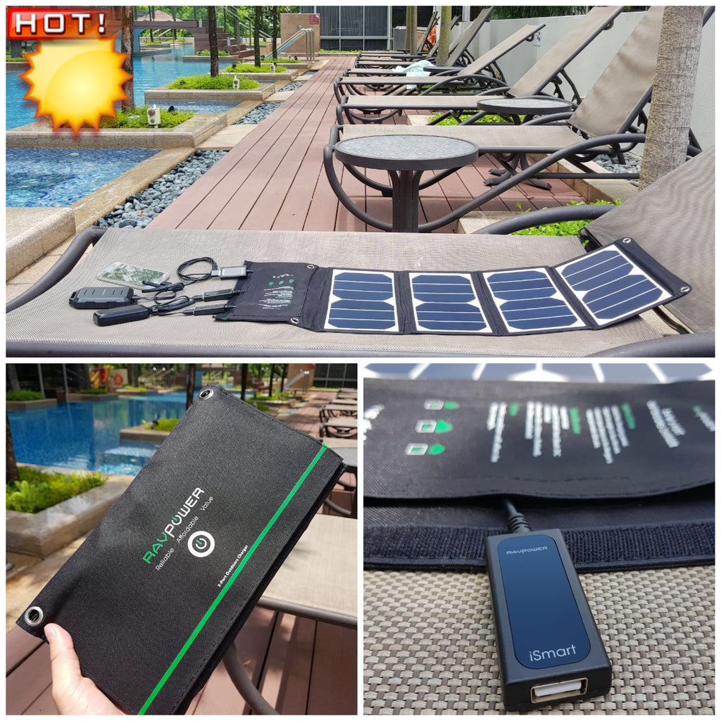 Brand New RAVPower Solar Panel Chargers Have Arrived