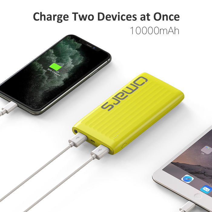 [Omars] Flash Power 10000mAh Portable Power Bank With Torch