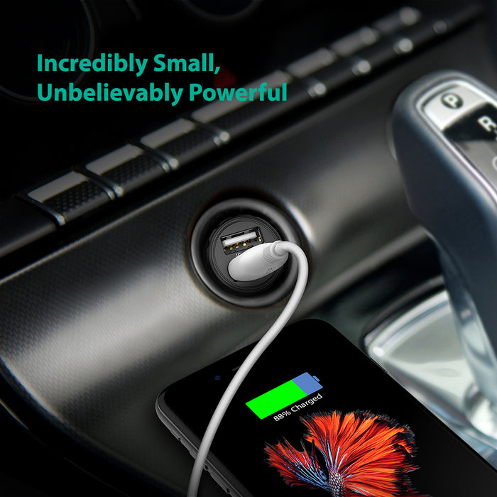 Mini Dual USB Car Charger [RAVPower RP-PC031]-Car-RAVPower-Gadget King Pte. Ltd.