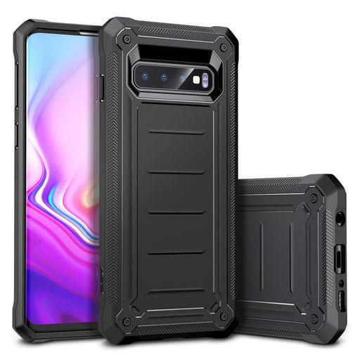 Galaxy S10 Machina Rugged Case-Case-ESR-Black-Gadget King Pte. Ltd.