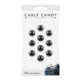 Cord Management & Cable Organizer (10X Small size Beans) By CABLE CANDY