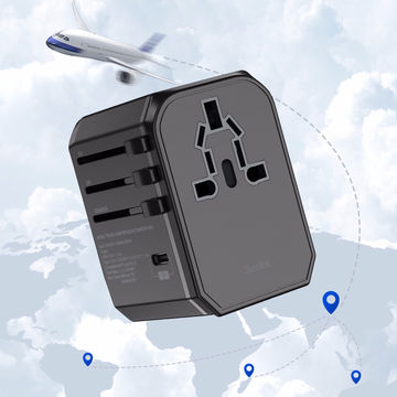 [Benks] Multifunctional Travel Adapter ,Plug Style: EU,UK,AU,USA (PA36)