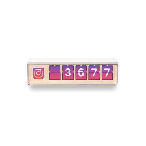 Real-time 5-Digit Instagram Follower Counter by Smiirl-Social Media Counters-Smiirl-Gadget King Pte. Ltd.