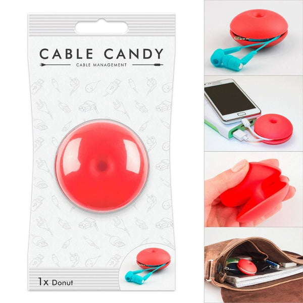 Cord Management & Cable Organizer (Donut) By CABLE CANDY