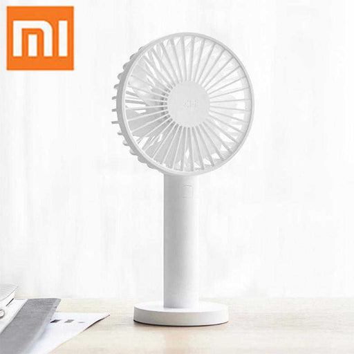 [Xiaomi] ZMI Portable Fan, Handy And Easy To Use, 10hours Battery Life, Rechargeable, Blue/White