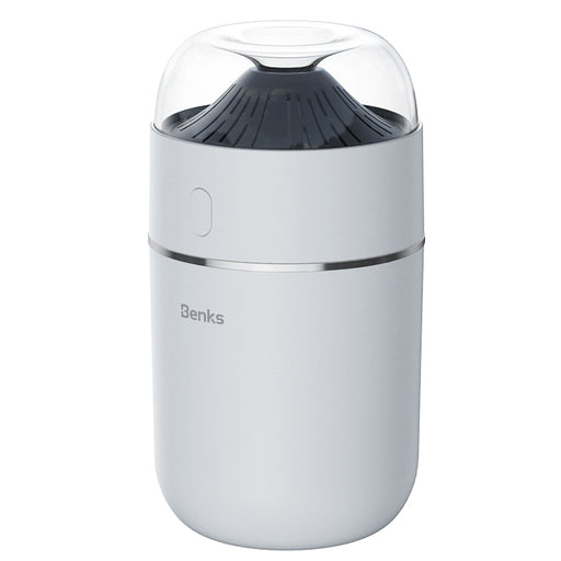 [Benks] Small portable Volcano Shape Humidifier with ultra quiet mode,Colourful night light ,provide soft/fresh mist and shut off automatically (L27)