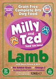 Milly and Ted Lamb with Sweet Potato and Mint – Grain Free