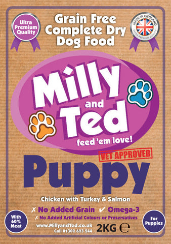 Puppy with Chicken, Turkey and Salmon – Grain Free