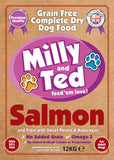 Milly and Ted Salmon with Sweet Potato and Asparagus – Grain Free